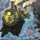 Steam Engine 519  by Michael Arnold