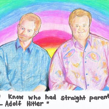 Mitch and Cam- Modern Family by Michaelaart