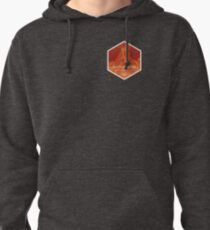 POCKET TEE VERSION - Death Mountain National Park Pullover Hoodie