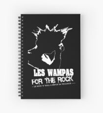 THE WAMPAS FOR THE ROCK Spiral Notebook
