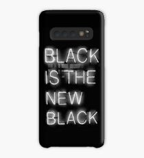 Black Is The New Black Case/Skin for Samsung Galaxy