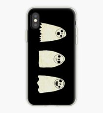 Three Spooky Ghosts iPhone Case