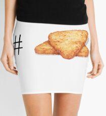 HashTag HashBrown Mini Skirt