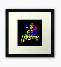 Gaming [ZX Spectrum] - Amaurote Framed Print