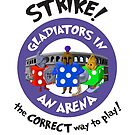 Strike! Gladiators in an Arena by emilyRose3