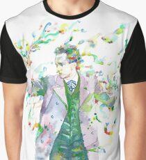 RICHARD STRAUSS - watercolor portrait.1 Graphic T-Shirt