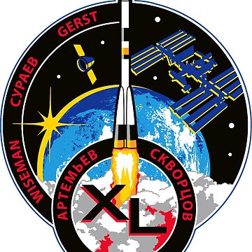 Expedition 40 Mission Patch by Spacestuffplus