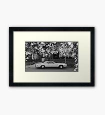 16x9 BW 001 Framed Print