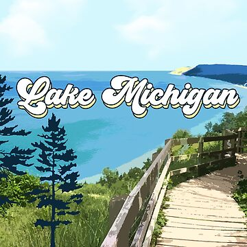 Lake Michigan Retro de GreatLakesLocal