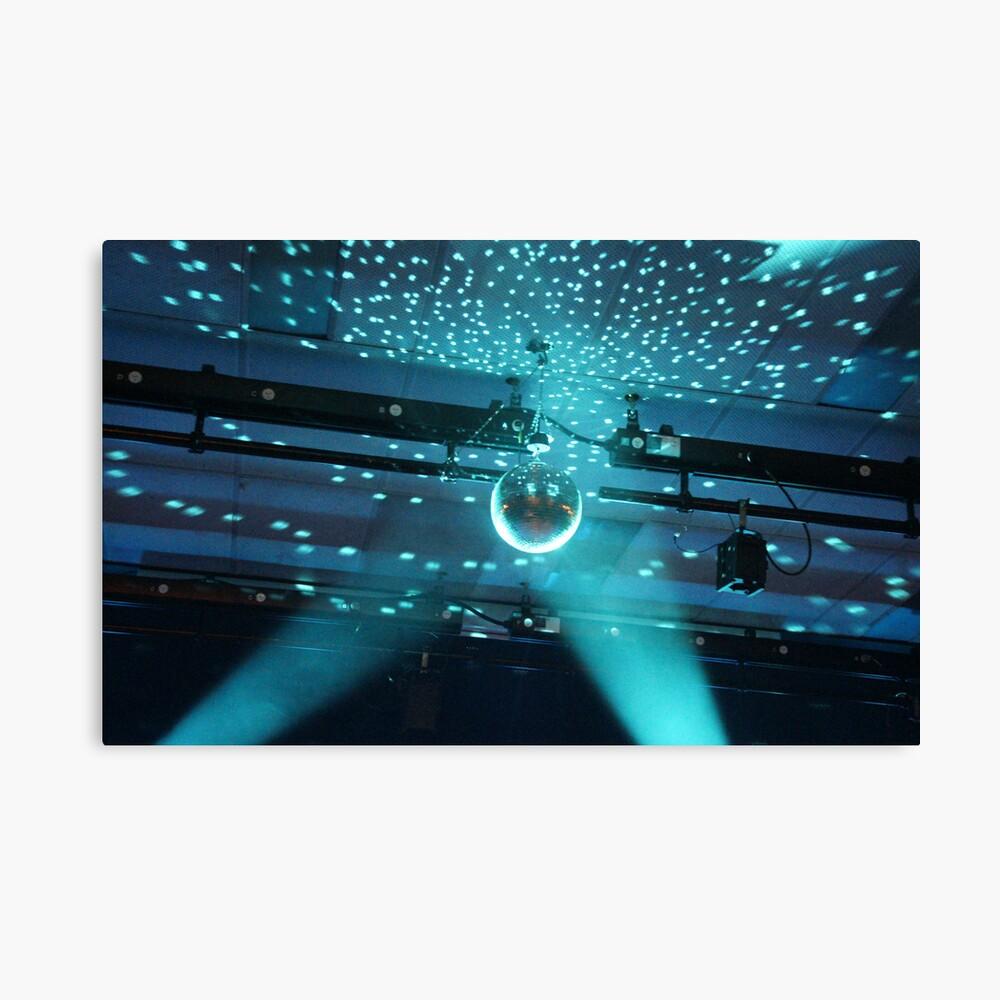 Disco Lights Series - Its a Disco! Canvas Print
