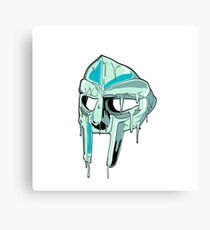 Drippy Mask Canvas Print