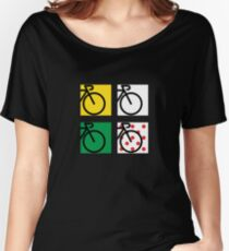 Tour France Cycling Race Women's Relaxed Fit T-Shirt