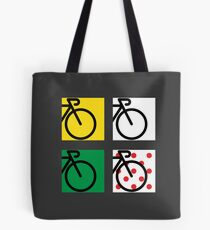 Tour France Cycling Race Tote Bag