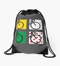 Tour France Cycling Race Drawstring Bag
