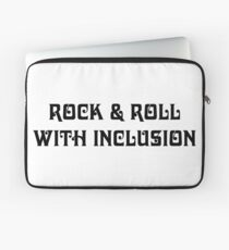 The Diversity of Classic Rock: Rock & Roll With Inclusion Laptop Sleeve