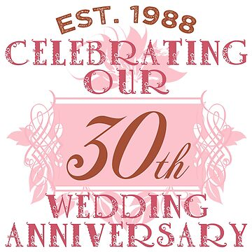 Cute 30th Anniversary by thepixelgarden
