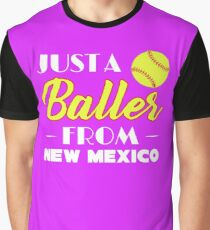 Just A Baller From New Mexico Graphic T-Shirt
