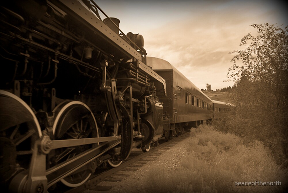 Kettle Valley Railroad Company by peaceofthenorth