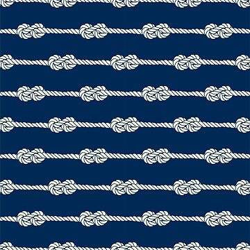 Figure 8 Knots - Nautical Pattern by AnastasiiaM