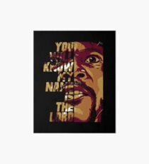 Pulp Fiction - Jules Art Board