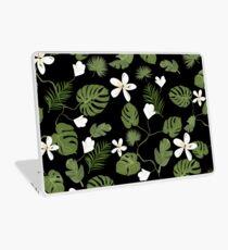 Exotic tropical floral design Laptop Skin