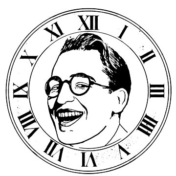 harold Llyod Clock Face by Ice-Tees