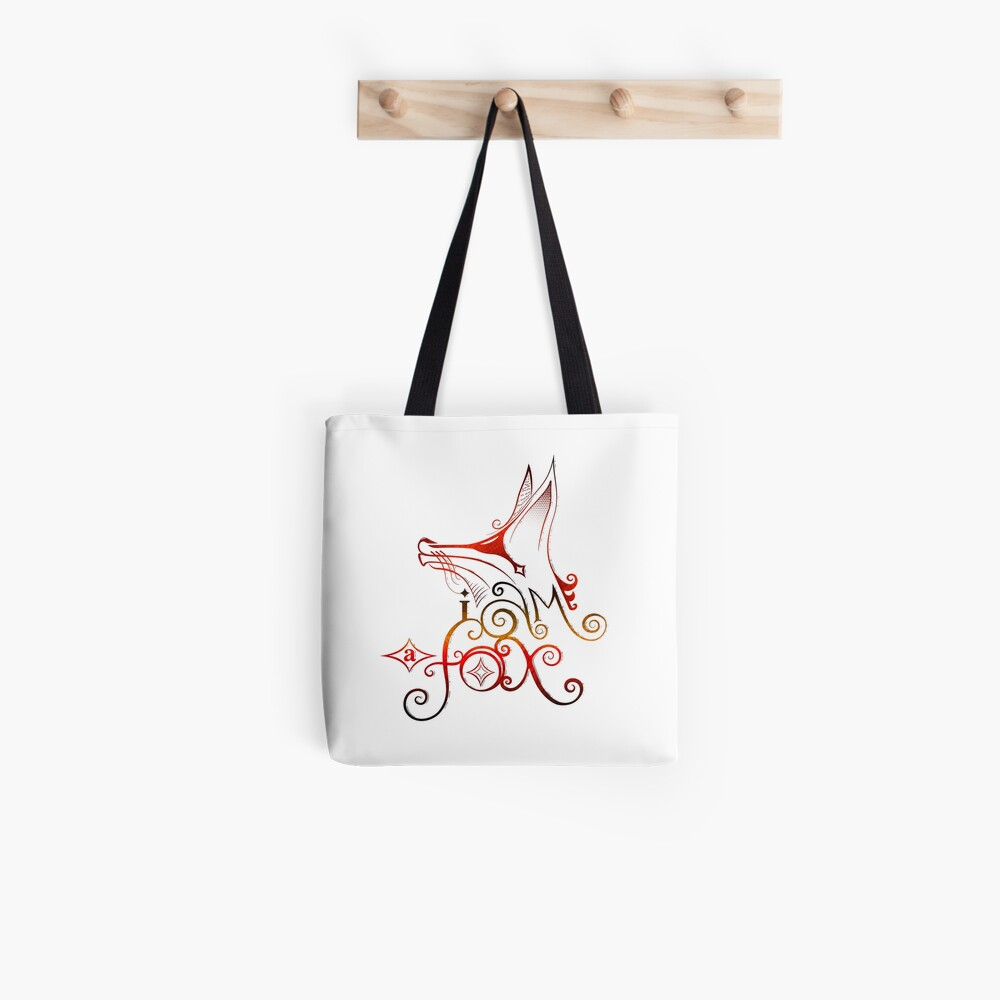 I am a Fox Tote Bag
