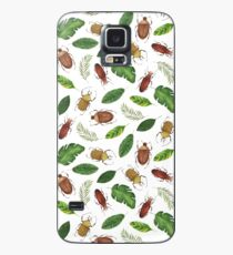 Summer collection. Bright watercolor bugs Case/Skin for Samsung Galaxy
