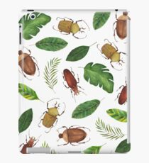 Summer collection. Bright watercolor bugs iPad Case/Skin