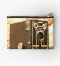 Antique Brownie Camera Studio Pouch