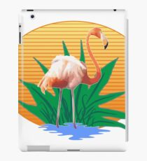 Cute Funny Flamingos Summer Sun & Good Feelings Designs iPad Case/Skin