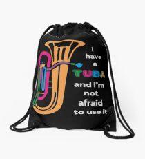 Tuba Drawstring Bag
