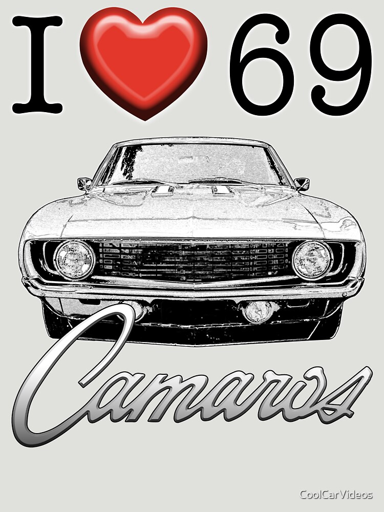 I love 69 Camaro by CoolCarVideos