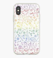 Tabletop RPG Pattern - Rainbow iPhone Case