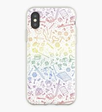 Tabletop RPG Pattern - Rainbow iPhone Case