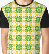 flowers romantico floral flat design seamless colorful repeat pattern Graphic T-Shirt