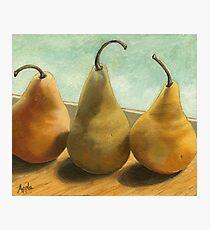 The Three Graces - fruit still life Photographic Print