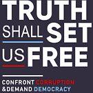 Die Wahrheit wird uns frei machen, Korruption konfrontieren Demokratie fordern von BootsBoots
