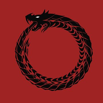 Ouroboros Eternal Serpant or Snake by Ice-Tees