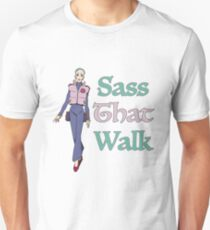 Gurren Lagann Leeron Littner - Sass That Walk T-Shirt