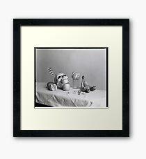 Medium Format: Campy Skull 2 Framed Print