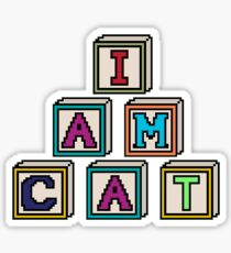 I Am Cat Sticker