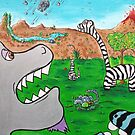 When Zebrasaurs Walked The Earth by jerasky