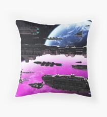 Fleet Maneuvers Throw Pillow