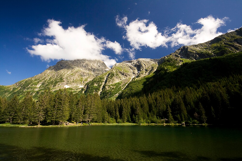 Lac du Poursolet  by Sylvain Girard