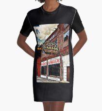 Bossier City Meets Lebanon, Missouri Graphic T-Shirt Dress