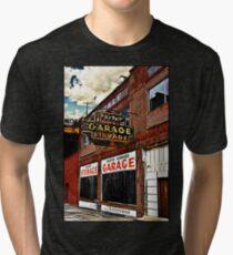 Bossier City Meets Lebanon, Missouri Tri-blend T-Shirt