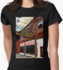 Bossier City Meets Lebanon, Missouri Fitted T-Shirt