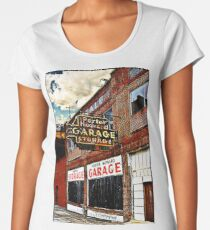 Bossier City Meets Lebanon, Missouri Premium Scoop T-Shirt