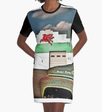 Fill'r Up Graphic T-Shirt Dress